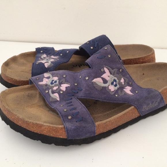 d406a19a4259 Birkenstock Shoes - Birkenstock Zara Embroidered Floral Sandals 39 L8